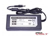 Розеточный адаптер 36W 12V IP20