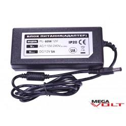 Розеточный адаптер 60W 12V IP20