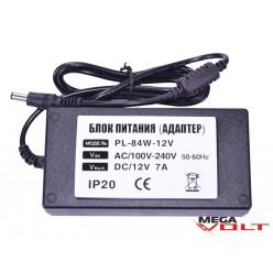 Розеточный адаптер 84W 12V IP20