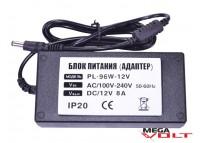 Розеточный адаптер 96W 12V IP20