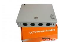Блок питания 180W 12V (18CH) в металлическом боксе