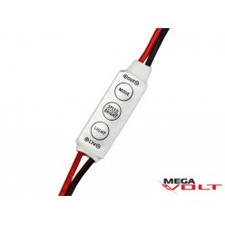 LED диммер 12A 144W (3 кнопки) mini