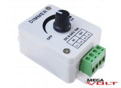 LED диммер 16A 192W (стационарный) knob