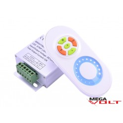 LED диммер 12A RF 144W (touch) white