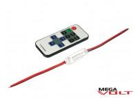 LED диммер 6A RF 72W (11 кнопок) mini