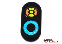 LED диммер 12A RF 144W (touch) black