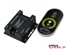 LED диммер multi white 12A RF 144W (touch) black