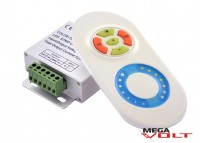 LED диммер multi white 12A RF 144W (touch) white
