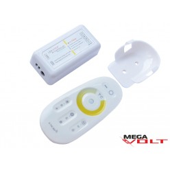 LED диммер multi white 12A RF 144W (touch) white 2.4GHz