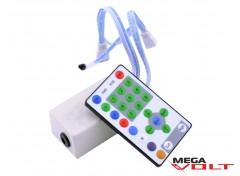 RGB контроллер 12A IR RW 3LED 144W (27 кнопок)