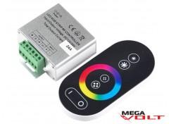 RGB контроллер 24A RF 288W (full touch) black