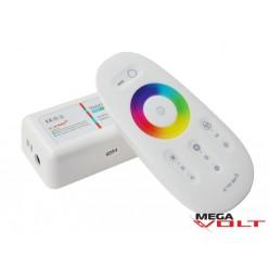 RGB контроллер 18A RF 216W (touch screen) white