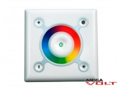 RGB контроллер 9A 108W (touch) white (wall-in)