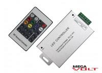 RGB контроллер 12A RF 144W (20 кнопок) aluminum