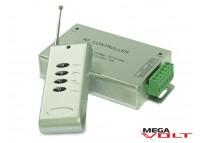 RGB контроллер 12A RF 144W (4 кнопки)
