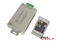 RGB контроллер 24A RF 288W (20 кнопок) aluminum