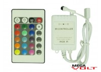 RGB контроллер 6A IR 72W (24 кнопки)