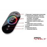 RGB контроллер 18A RF 216W (touch) black premium