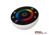 RGB контроллер 18A RF 216W (touch) black round
