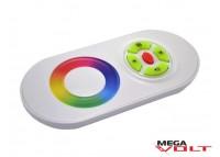 RGB контроллер 18A RF 216W (touch) white premium