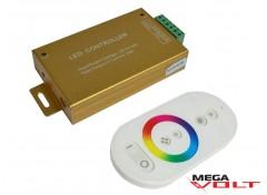 RGB контроллер 24A RF 288W (touch) white