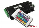 RGB music контроллер 10A IR 120W (24 кнопки)