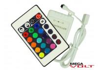 RGB music контроллер 6A IR 72W (24 кнопки)
