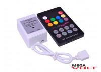 RGB music контроллер 6A RF 72W (18 кнопок)