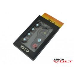 Комплект колпачков на ниппель (BMW+брелок)