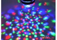 Светодиодная диско-лампа USB 3W Rotating RGB