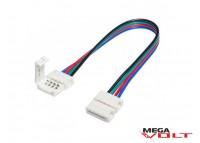 Соединительный кабель SMD RGB 5050 Cable clipsa (2 jack)