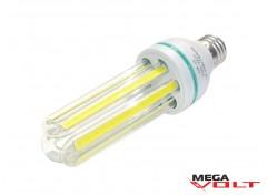 Светодиодная лампа E27 16W 220V 3U COB