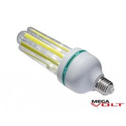 Светодиодная лампа E27 30W 220V 4U COB