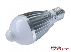 Светодиодная лампа E27 7W 220V Bulb MS (с датчиком движения)