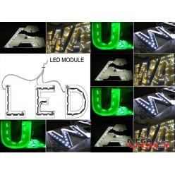 Светодиодный модуль SMD 5730 3LED (IP65) 12V