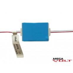 Светодиодный модуль SMD 2835 1LED (IP65) 12V с линзой (SA)