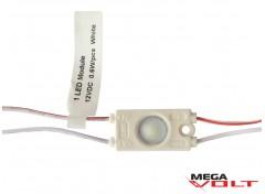 Светодиодный модуль SMD 2835 1LED (IP65) 12V (с линзой) premium