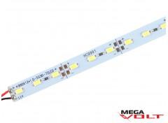 Светодиодная линейка SMD 5630 (72 LED/m) IP20 12V (без отверстий + скотч)