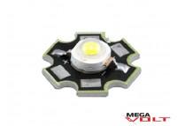 Сверхъяркий светодиод LED 1W White Star 110 Lm