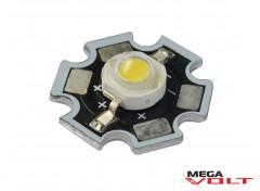 Сверхъяркий светодиод LED 3W White Star 240 Lm
