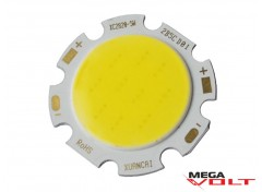 Светодиодный модуль COB LED 5W White 400 Lm (round)