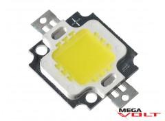 Сверхъяркий светодиод LED 10W White 800 Lm 12V econom
