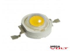 Сверхъяркий светодиод LED 1W Warm White 100 Lm
