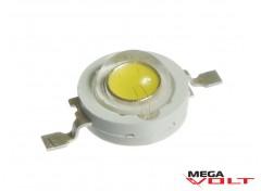 Сверхъяркий светодиод LED 1W White 70 Lm econom