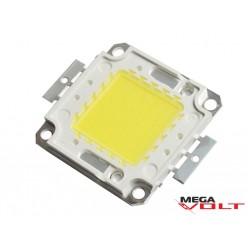 Сверхъяркий светодиод LED 50W White 4600 Lm (1500mA) econom