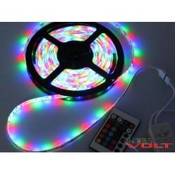 Светодиодная лента SMD 2835 (60 LED/m) RGB IP20 standart 12V