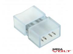 Коннектор для ленты SMD 5050 (3 chip) 220V (2 jack+4pin)