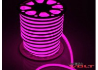 Гибкий неон Flex 12V SMD 2835 (120 LED/m) IP67 Pink