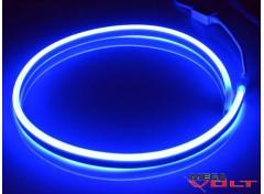 Гибкий неон 220V SMD 2835 (120 LED/m) IP67 Blue