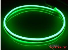 Гибкий неон 220V SMD 2835 (120 LED/m) IP67 Green